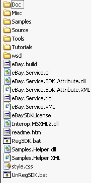 eBay  NET SDK: Getting Started Guide