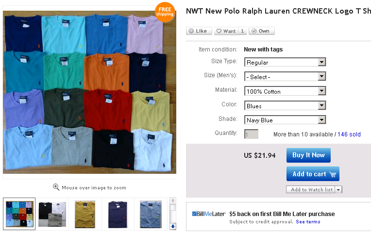 Ebay Features Using Multi Variation Listings