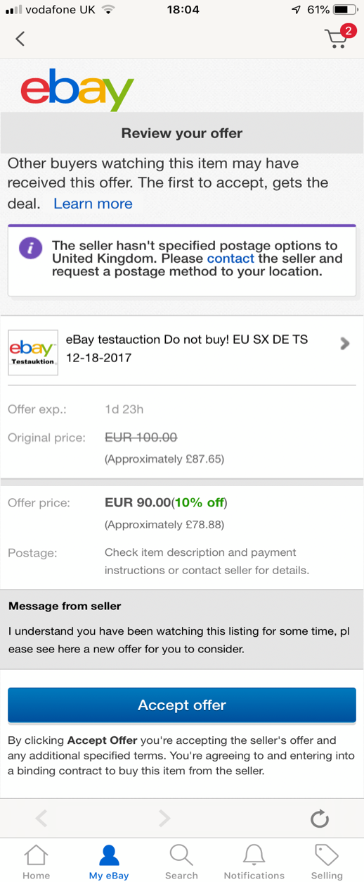 Ebay Developer Portal Sellers Can Now Programmatically Send Exclusive Discount Offers To Buyers